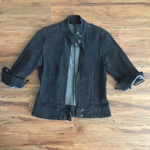 Jackets & Blazers - washing black jean jacket